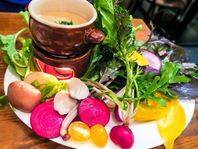 ナチュールバル-のぞえ農園やさいの無農薬野菜バーニャカウダ
